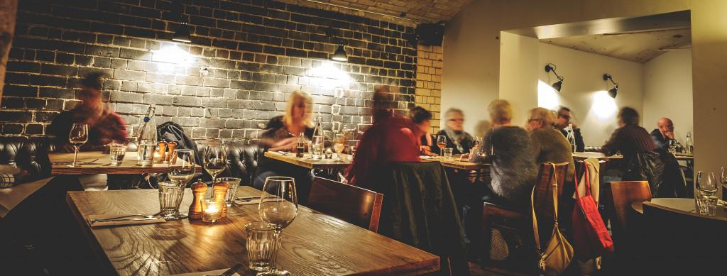 Dining at The Potted Pig